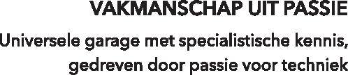 Vakmanschap uit passie - Auto Kuypers Oisterwijk